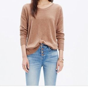 Madewell Chronicle Brown Sweater Small
